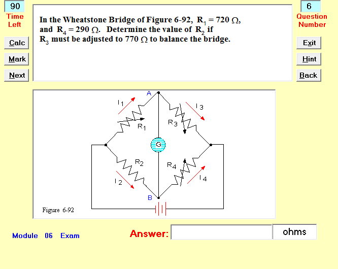 Interactive Exam Question